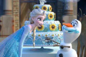 El pastel se hizo viral. Foto:vía Disney. Imagen Por: