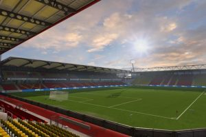 Vicarage Road (Watford, Barclays Premier League) Foto: EA Sports. Imagen Por: