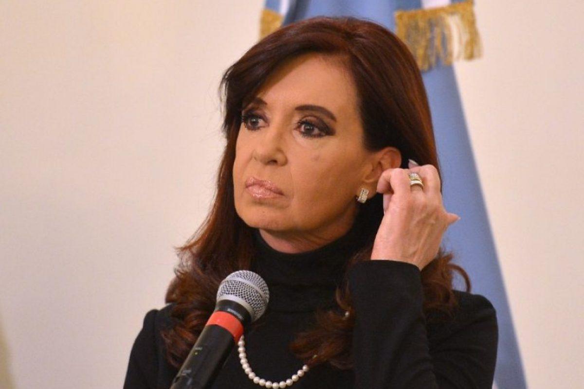 Cristina Fernández de Kirchner. La presidenta de Argentina nació el 19 de febrero de 1953 en La Plata. Tiene 62 años. Foto:AFP. Imagen Por: