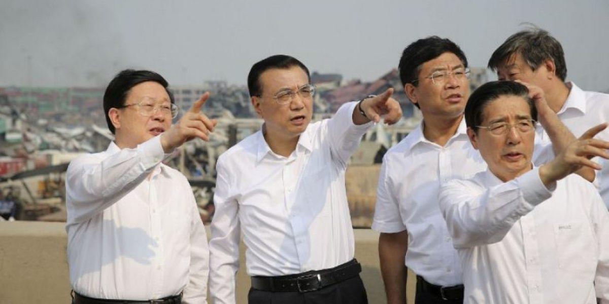 Hijo de ex jefe de policía de Tianjin implicado en caso de explosiones
