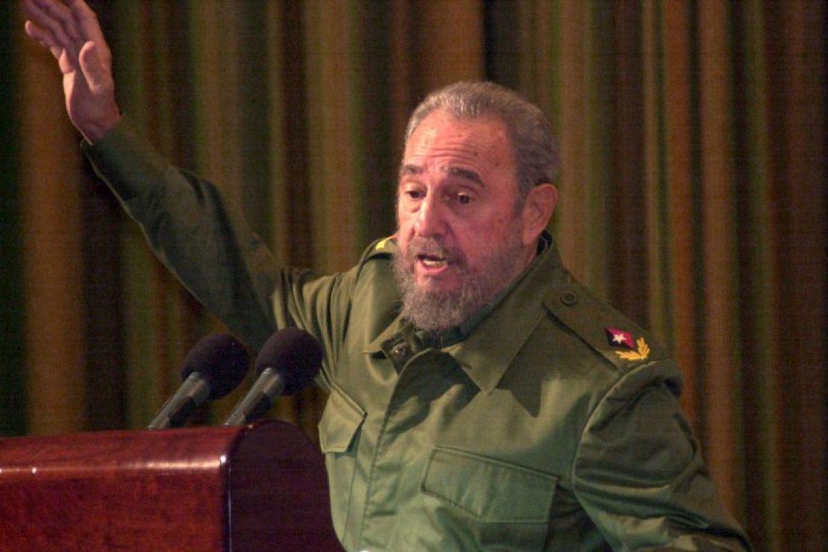 Fidel Castro, recién cumplió 89 años. Nació el 13 de agosto de 1926, en Birán, Cuba Foto:Getty Images. Imagen Por: