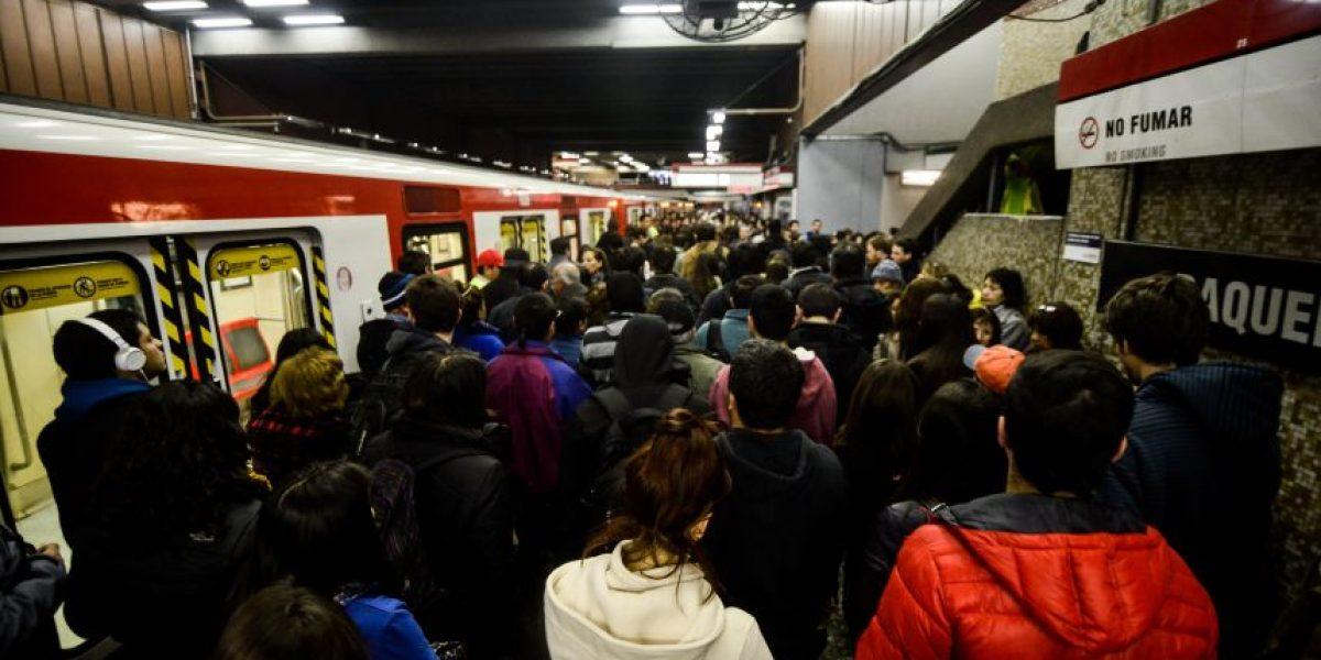 Choferes del Metro llaman a protesta en Estación Baquedano