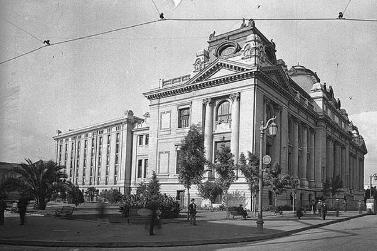 Biblioteca Nacional (1813) Foto:@RenzoVaccarezza. Imagen Por: