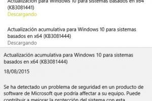 Foto:Windows Update. Imagen Por: