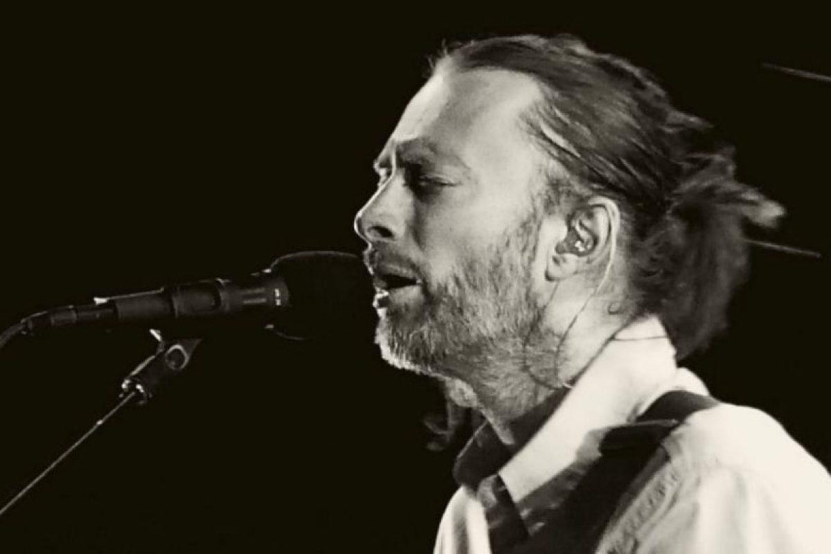 """En 2013, Thom Yorke decidió sacar toda su música de los servicios de """"streaming"""". Foto:Wikicommons. Imagen Por:"""
