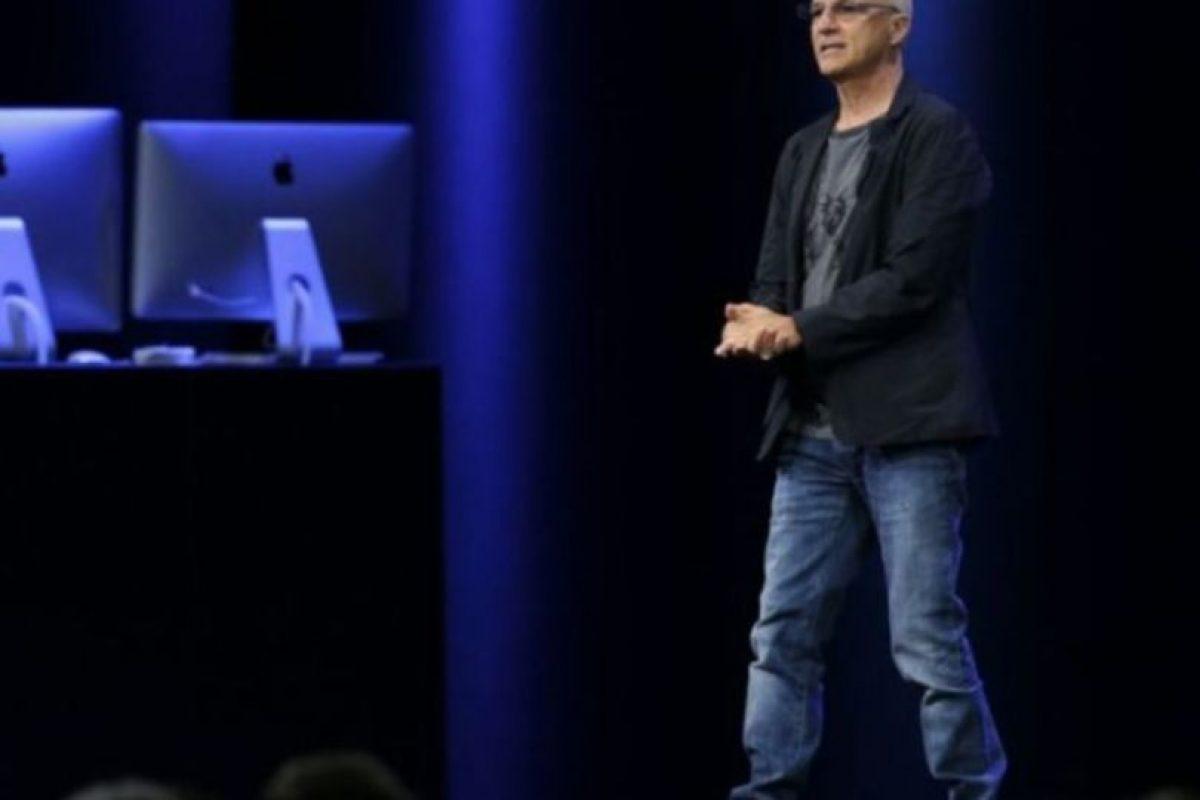 Jimmy Iovine fue el encargado de presentar la aplicación. Foto:Apple. Imagen Por: