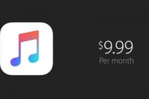 El servicio es únicamente por suscripción y cuesta 9.99 dólares al mes (14.99 en plan familiar). Foto:Apple. Imagen Por: