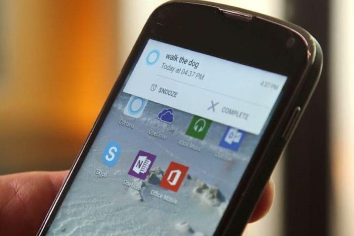 Es posible comenzar una llamada a un contacto específico de Skype y otras acciones determinadas. Foto:Microsoft. Imagen Por: