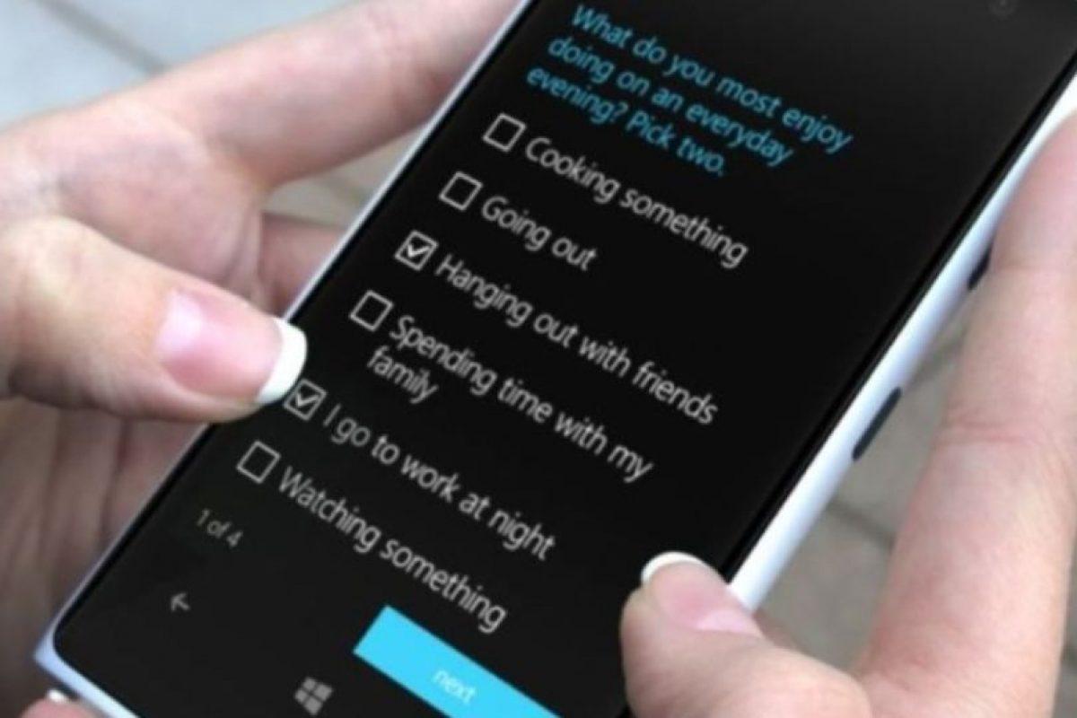 Se puede utilizar a partir de Windows Phone 8.1 Foto:Microsoft. Imagen Por: