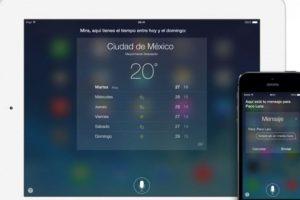 Dictados de igual forma sirve para aplicaciones como Twitter, Facebook, búsquedas en web, entre otras Foto:Apple. Imagen Por: