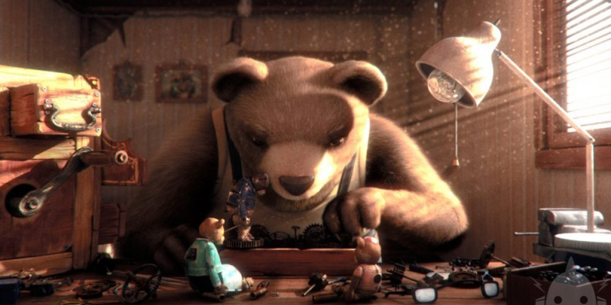 Hablan los chilenos que están a un paso de los Oscar con un oso animado