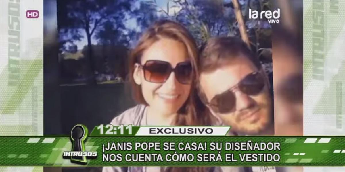 Janis Pope planea matrimonio en medio de polémica relación con su cuñada Andrea Dellacasa