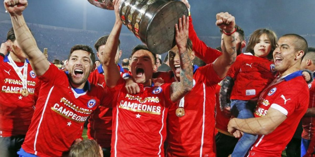 La Copa América en tu casa: El trofeo comienza su recorrido por Chile