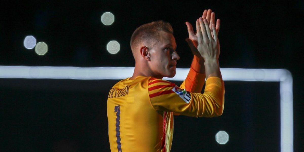 Ter Stegen sigue poniendo presión en Barcelona: