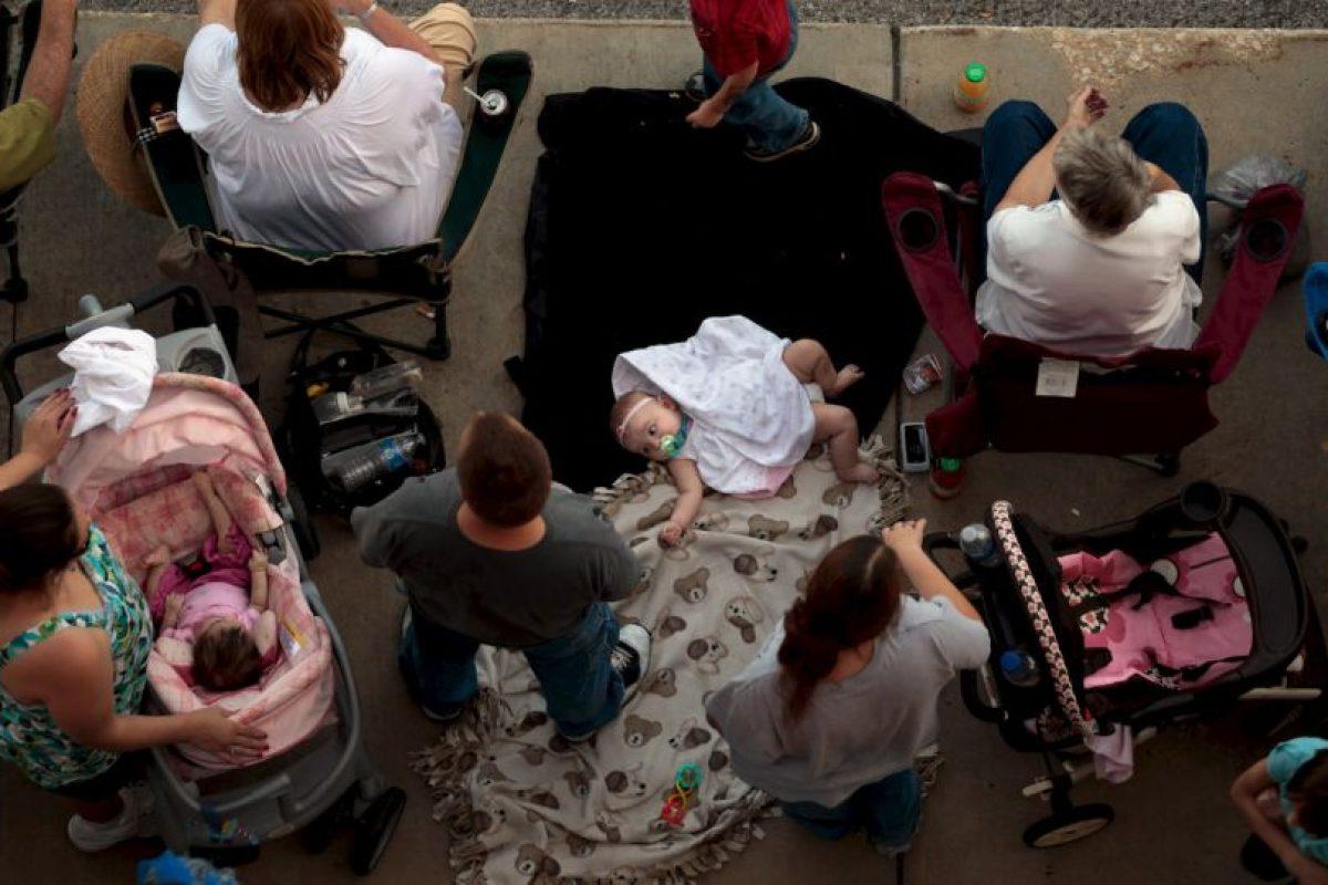 Brittany Pilkington reportó a las autoridades la muerte de su hijo. Foto:Getty Images. Imagen Por: