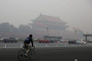 Los sistemas de calentamiento de carbón en China son considerados los principales culpables de la liberación de partículas contaminantes al aire. Foto:Getty Images. Imagen Por: