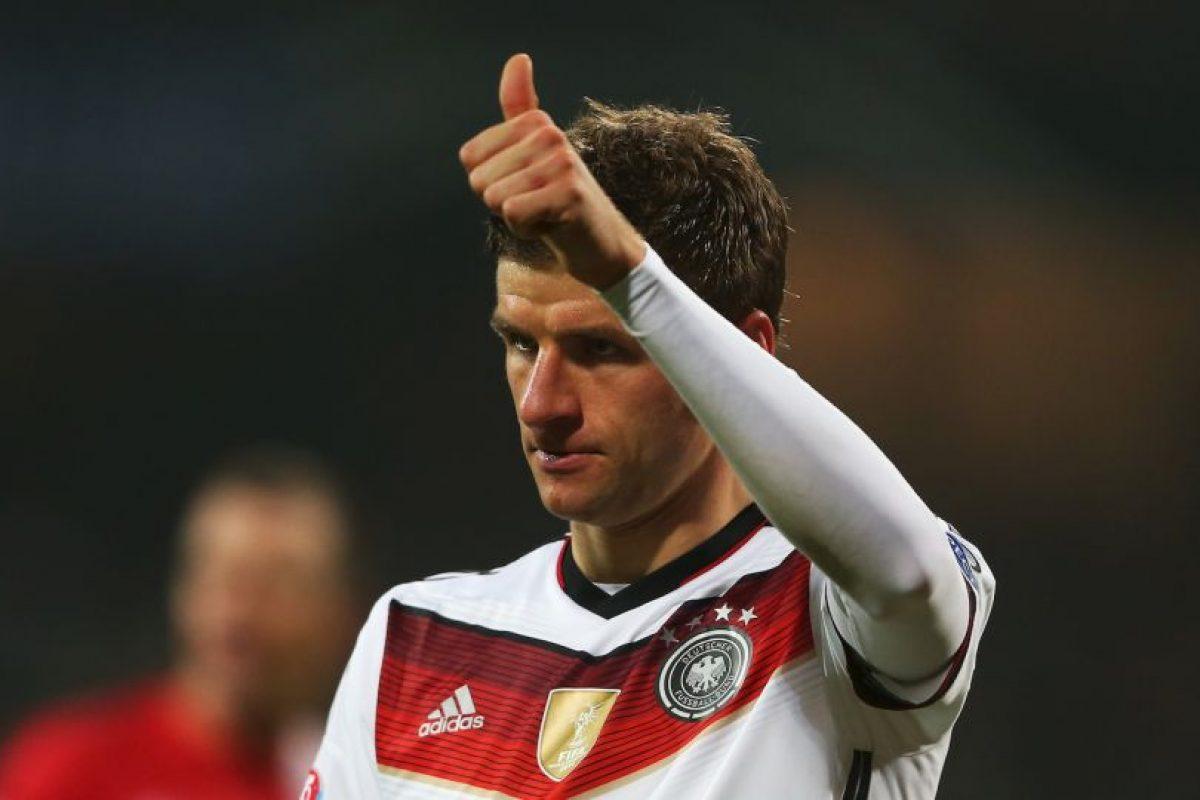 Müller nació el 13 de septiembre de 1989 en Weilheim, Alemania. Tiene 25 años. Foto:Getty Images. Imagen Por: