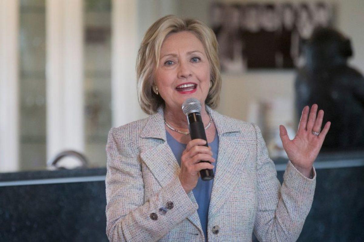 """Durante su campaña, Clinton aseguró que su apoyo a la guerra en Irak fue un error. """"Cometí un error. Así de simple"""", dijo al periódico estadounidense """"Bussiness Insider"""". Foto:Getty Images. Imagen Por:"""