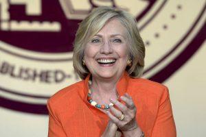 Hillary Clinton. La aspirante presidencial estadounidense nació el 26 de octubre de 1947, hace 67 años, en Chicago, Illinois. Foto:Getty Images. Imagen Por:
