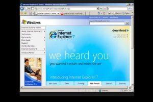 Internet Explorer 7.0 (2006) Foto:Microsoft. Imagen Por: