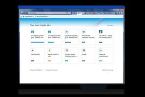 Internet Explorer 9.0 (2011) Foto:Microsoft. Imagen Por: