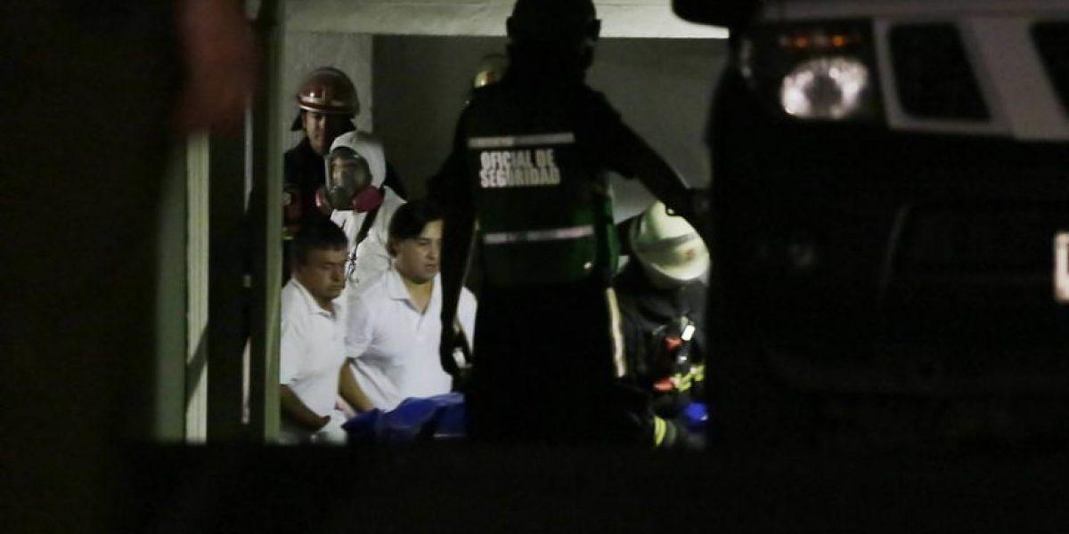 Una mujer muere tras choque en Autopista Central