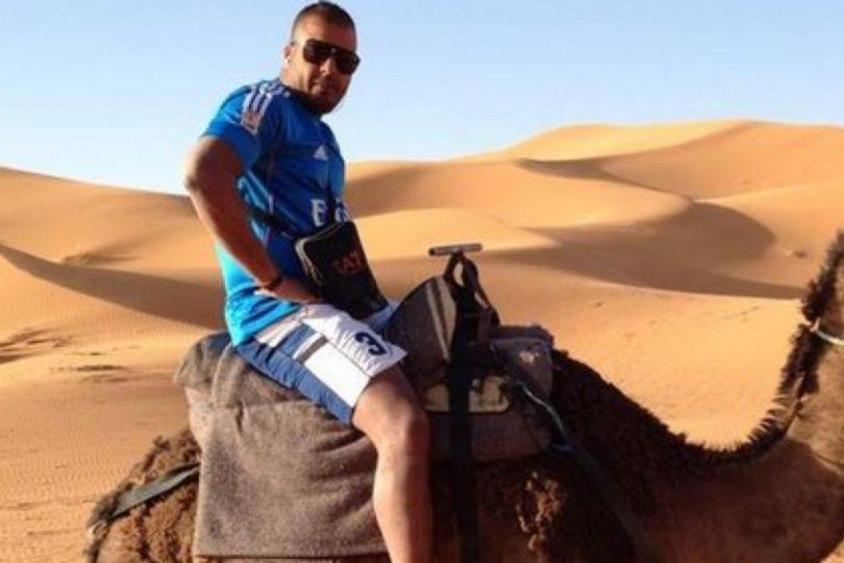 Huyó a Marruecos y no se privó de nada. Foto:vía Facebook. Imagen Por: