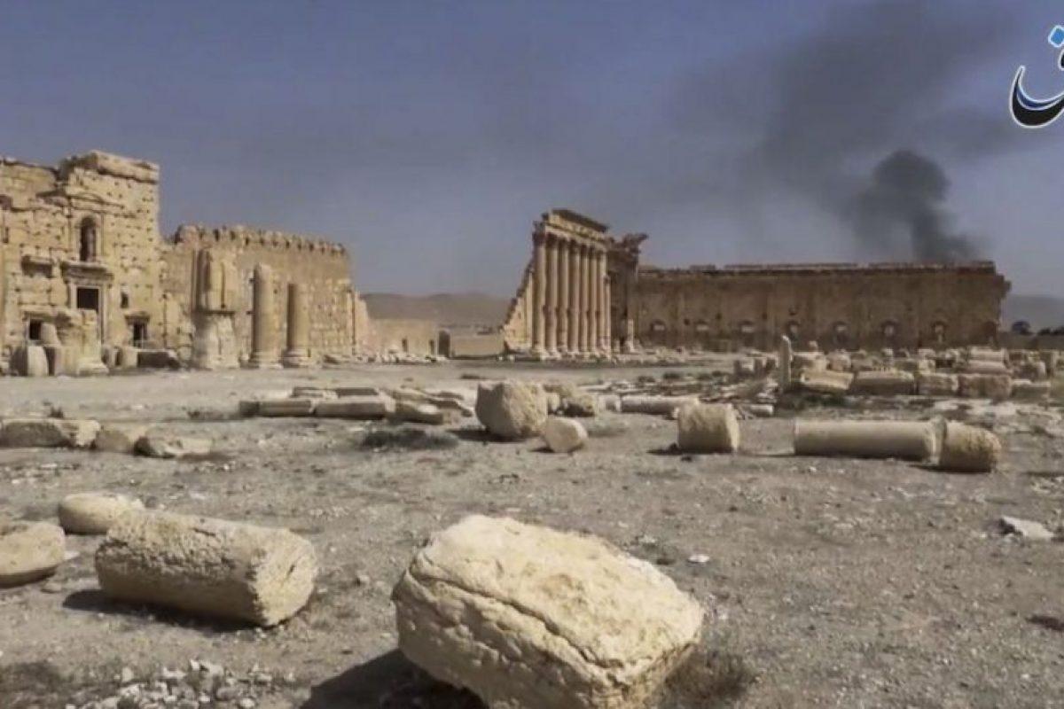 El grupo terrorista ha causado la destrucción de distintas figuras históricas en Palmira. Foto:AP. Imagen Por: