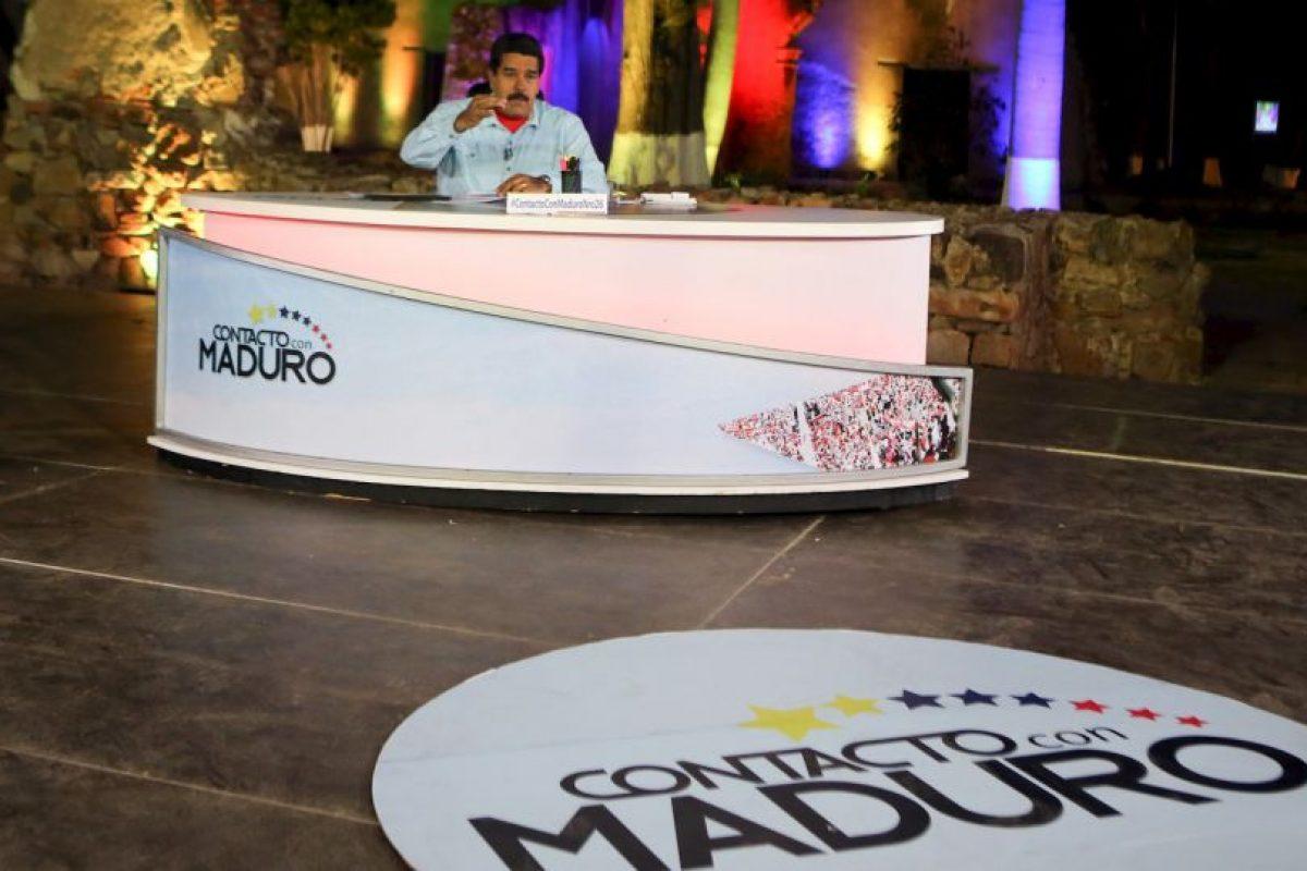 Nicolás Maduro, presidente de Venezuela asguró que en el país hay 30 grupos paramilitares. Foto:AFP. Imagen Por: