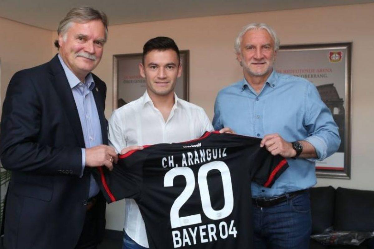 Charles Aranguiz (Bayer Leverkusen/Chile) Foto:Vía facebook.com/bayer04fussball. Imagen Por: