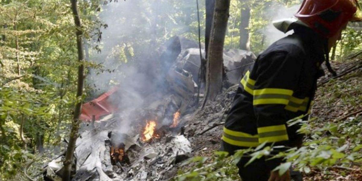 Al menos siete muertos al chocar dos aviones con paracaidistas en Eslovaquia