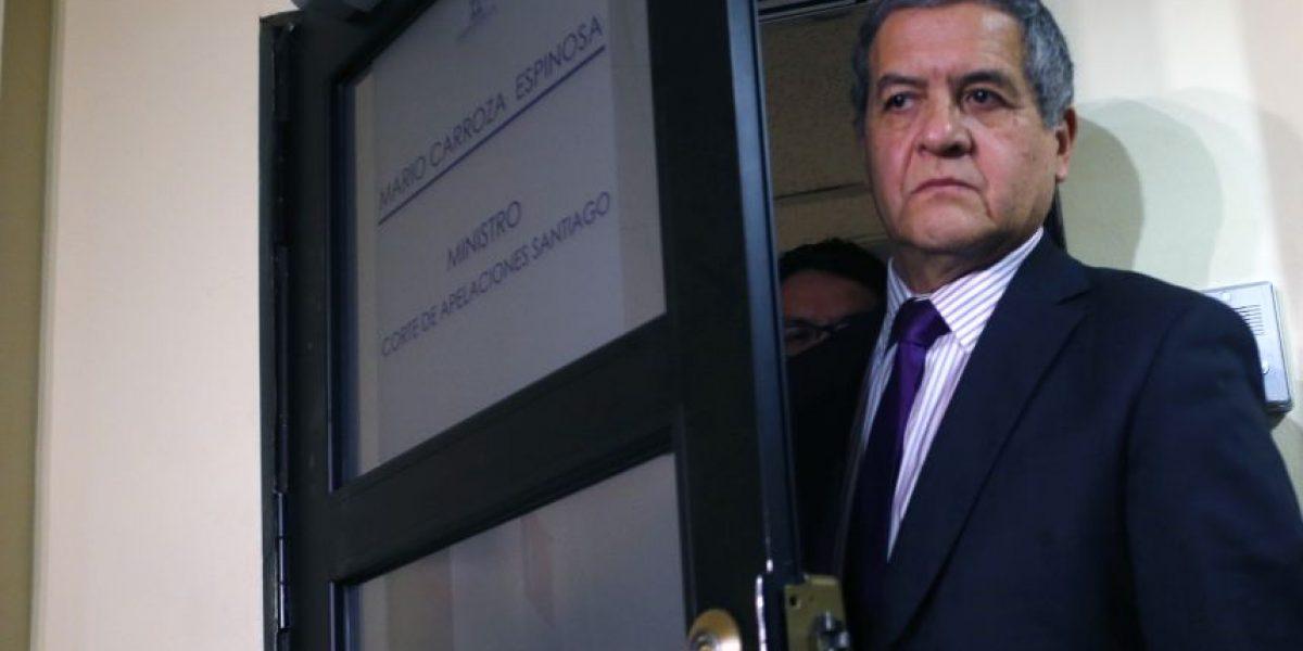 Ministro Carroza absuelve a dos carabineros en retiro por homicidio de mirista