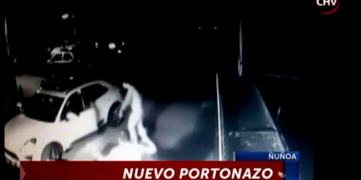 """""""Portonazos"""" atemorizaron a vecinos de Ñuñoa y San Miguel"""