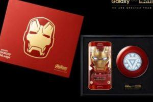 """El smartphone edición de """"Iron Man"""" fue lanzado de forma oficial en mayo pasado. Foto:Samsung. Imagen Por:"""