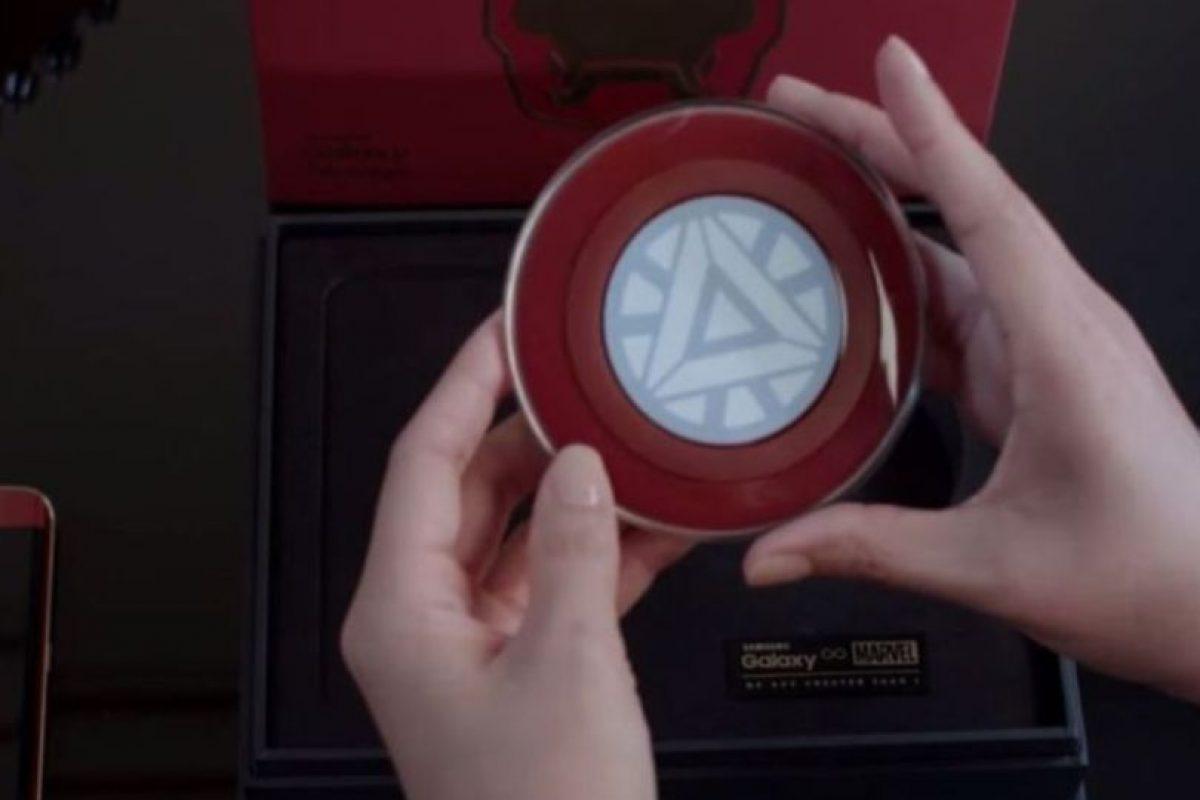"""El """"Reactor Arc"""" es un cargador inalámbrico. Foto:Samsung. Imagen Por:"""