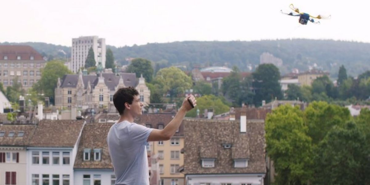 VIDEO: Fotokite, el dron portátil para tomar selfies