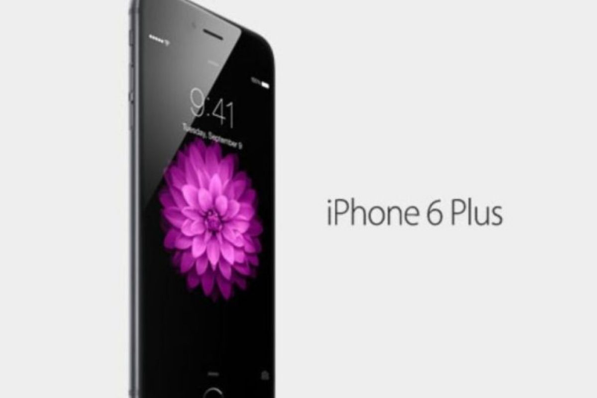 iPhone 6 Plus. Foto: Apple. Imagen Por: