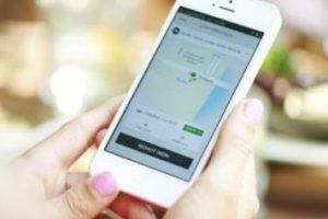2- La aplicación está disponible para iPhone y Android. Foto:Uber. Imagen Por: