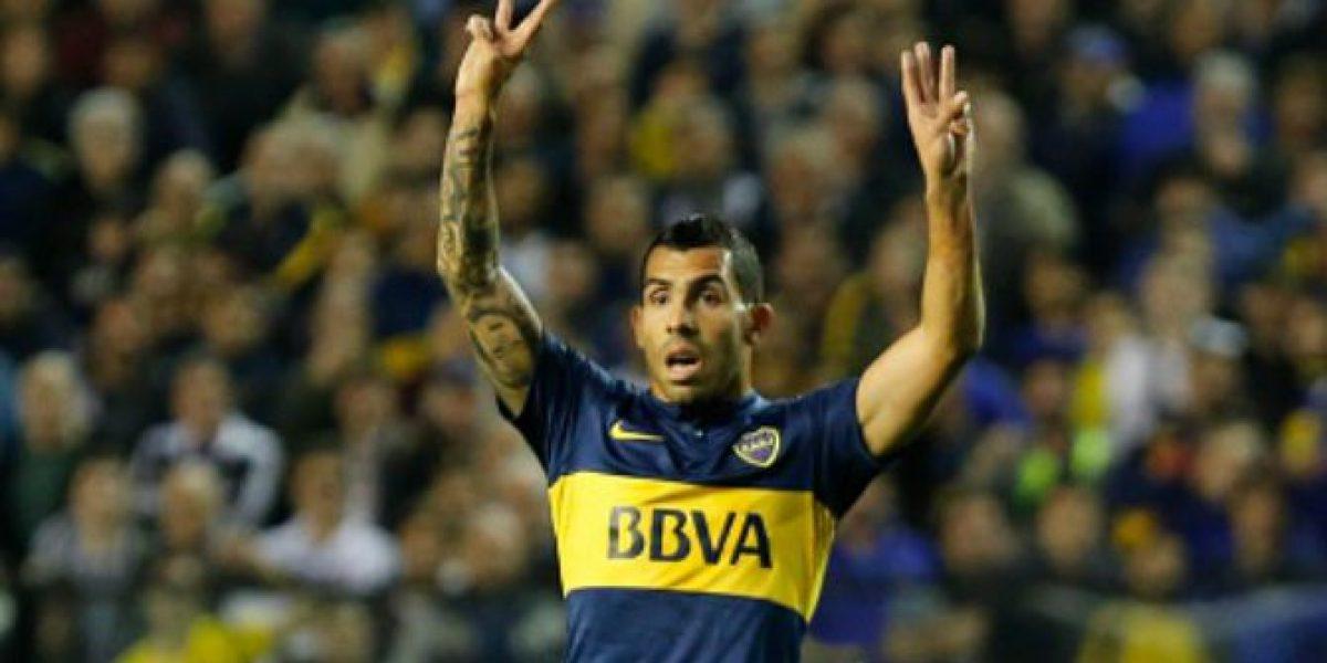 El noble gesto de Carlitos Tévez con hincha que se metió a la cancha