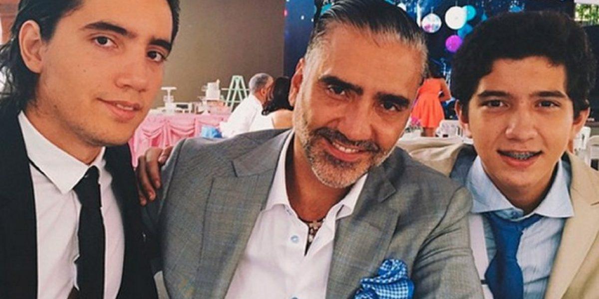 Él es el atractivo hijo de Alejandro Fernández