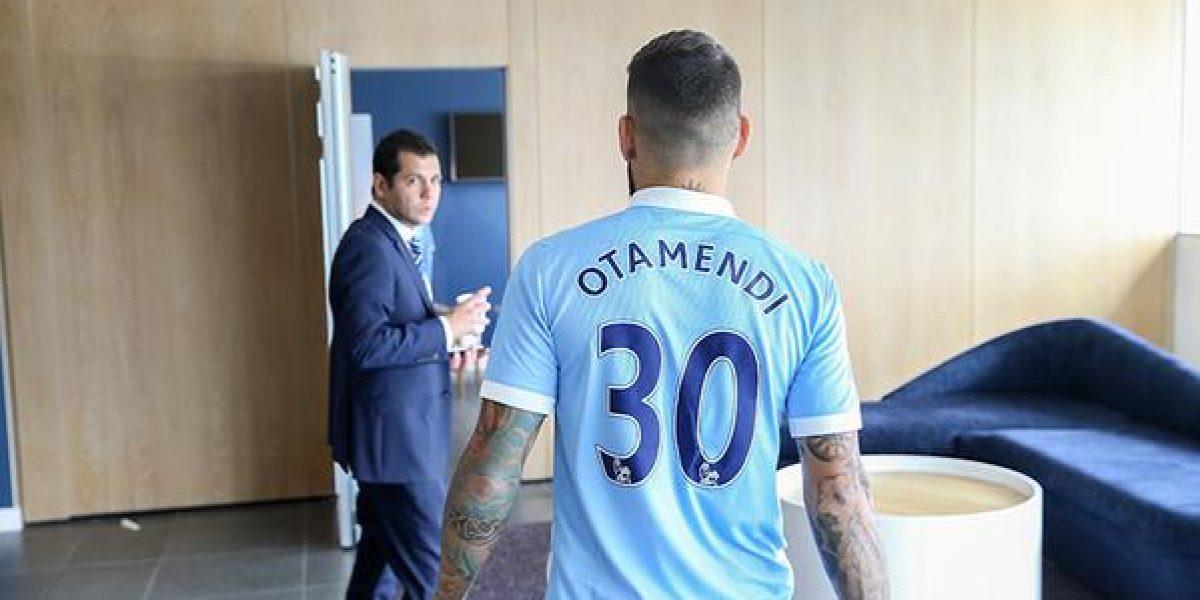 Pellegrini logra su objetivo y el City oficializa fichaje de Nicolás Otamendi