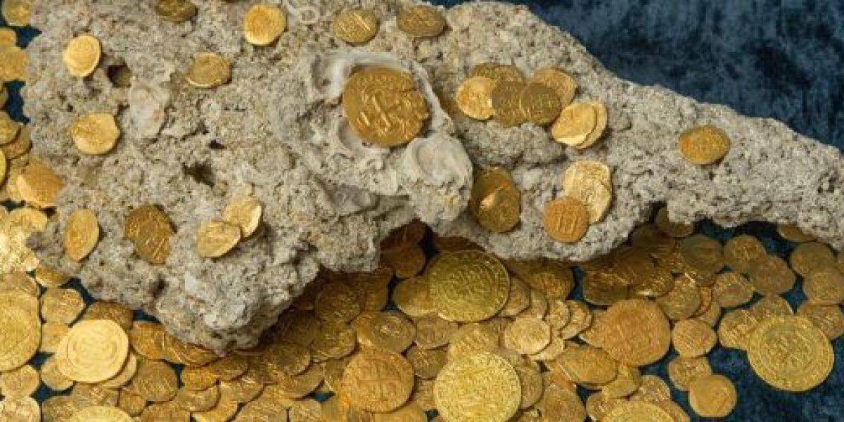 Florida, EEUU: hallan 350 monedas de oro valoradas en US$4,5 millones
