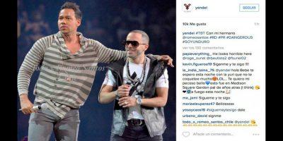 . Imagen Por: Instagram/Yandel