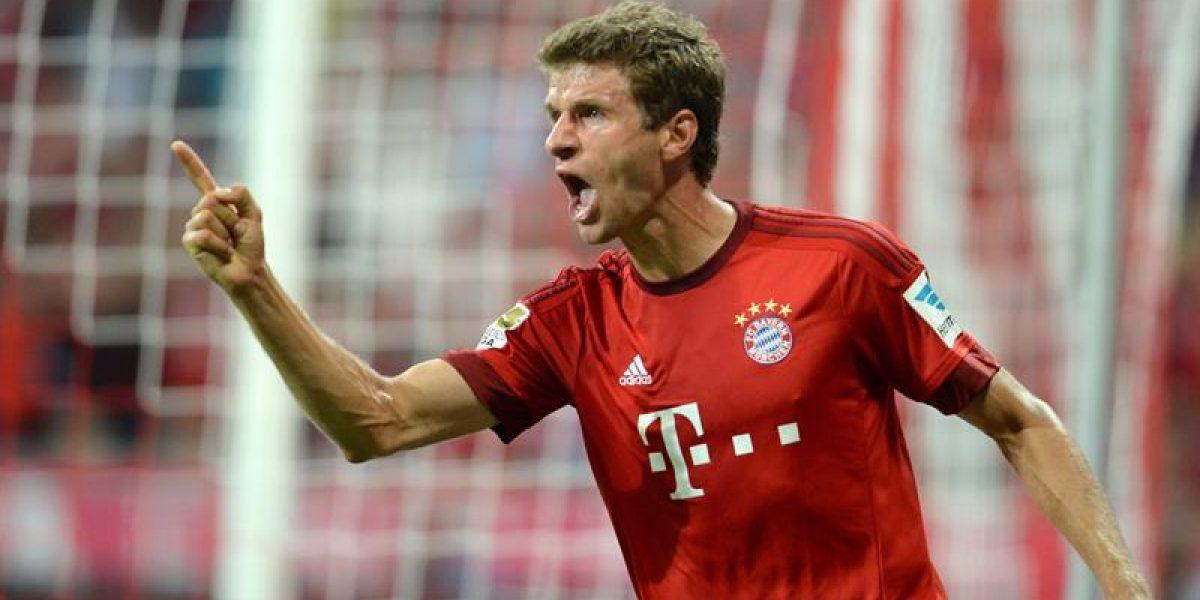 Manchester United no escatima en gastos y solo piensa en Thomas Müller