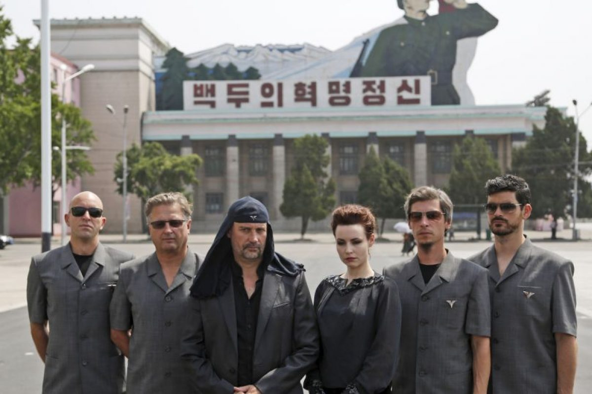 Debido a que sus puestas en escena son homenajes a las dictaduras, se les ha tachado tanto de fascistas como de comunistas. Foto:AP. Imagen Por: