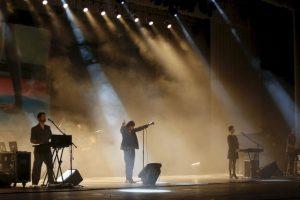 Los integrantes de la banda se muestran entusiasmados frente a la experiencia. Foto:AP. Imagen Por: