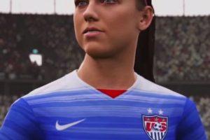 Alex Morgan Foto:EA Sports. Imagen Por: