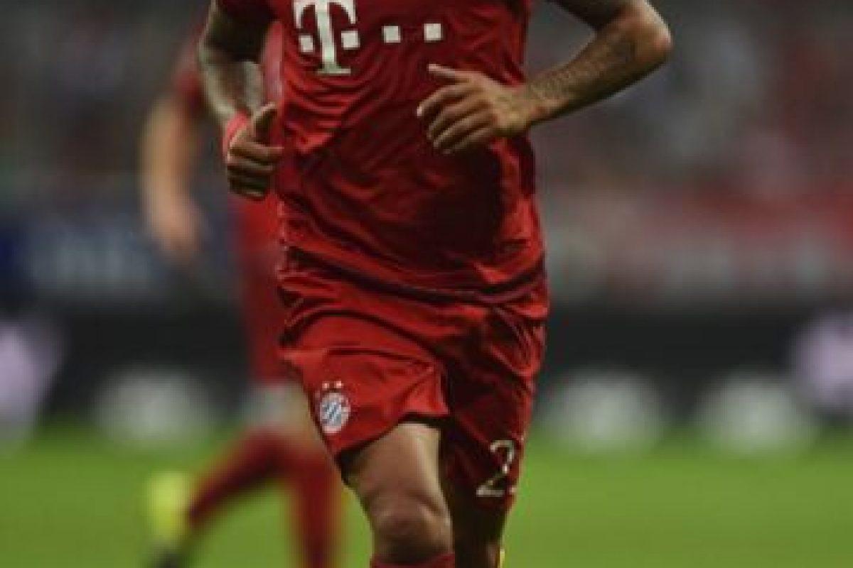 El chileno Arturo Vidal juega en el Bayern Múnich de Alemania Foto:Getty Images. Imagen Por: