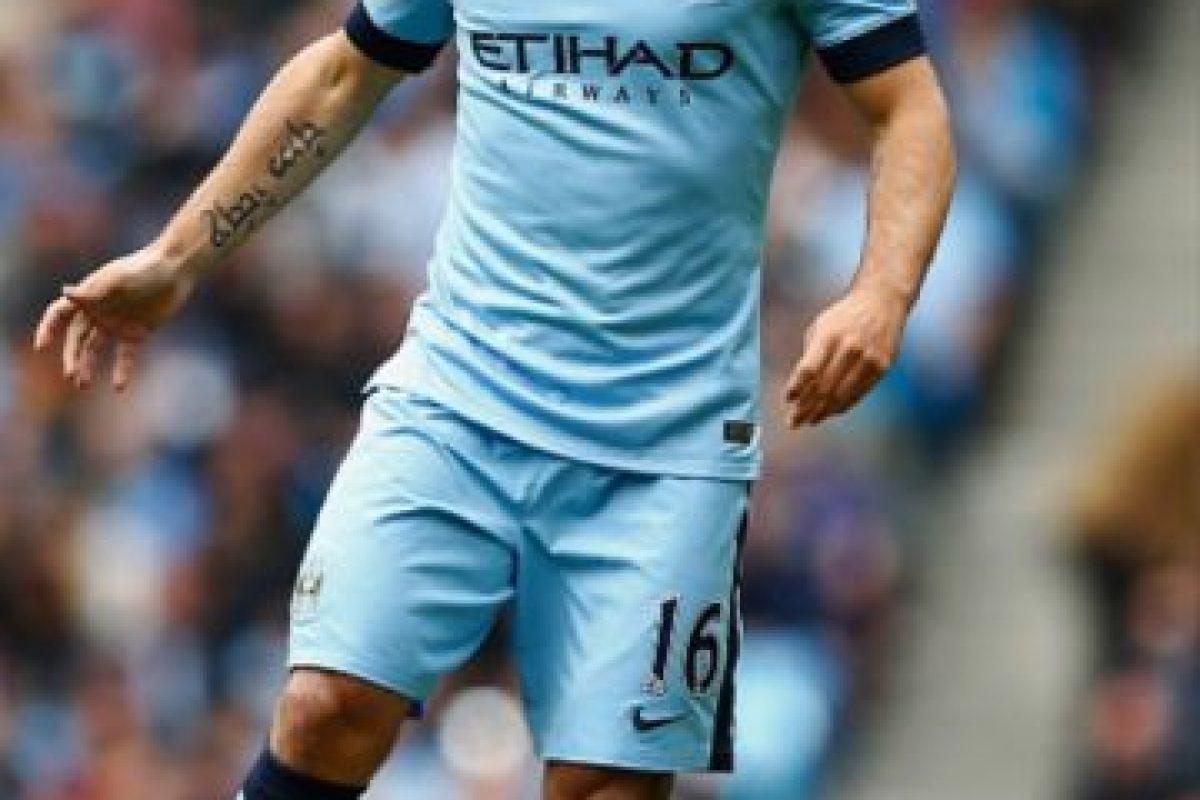 El argentino juega en el Manchester City de Inglaterra Foto:Getty Images. Imagen Por: