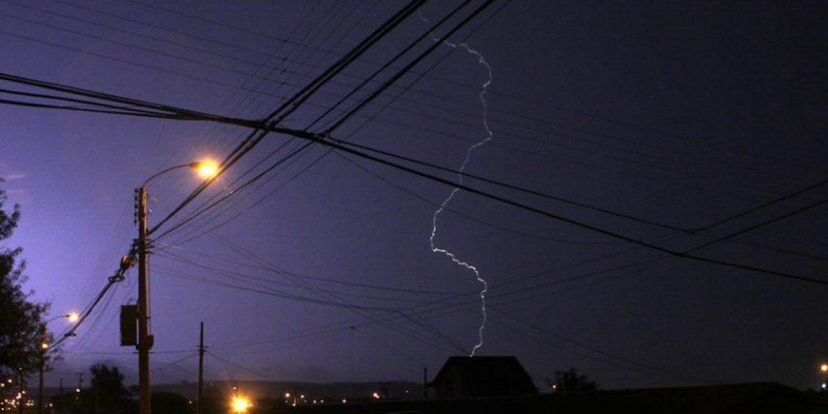 Tormenta eléctrica sorprendió a habitantes de la Región de Coquimbo